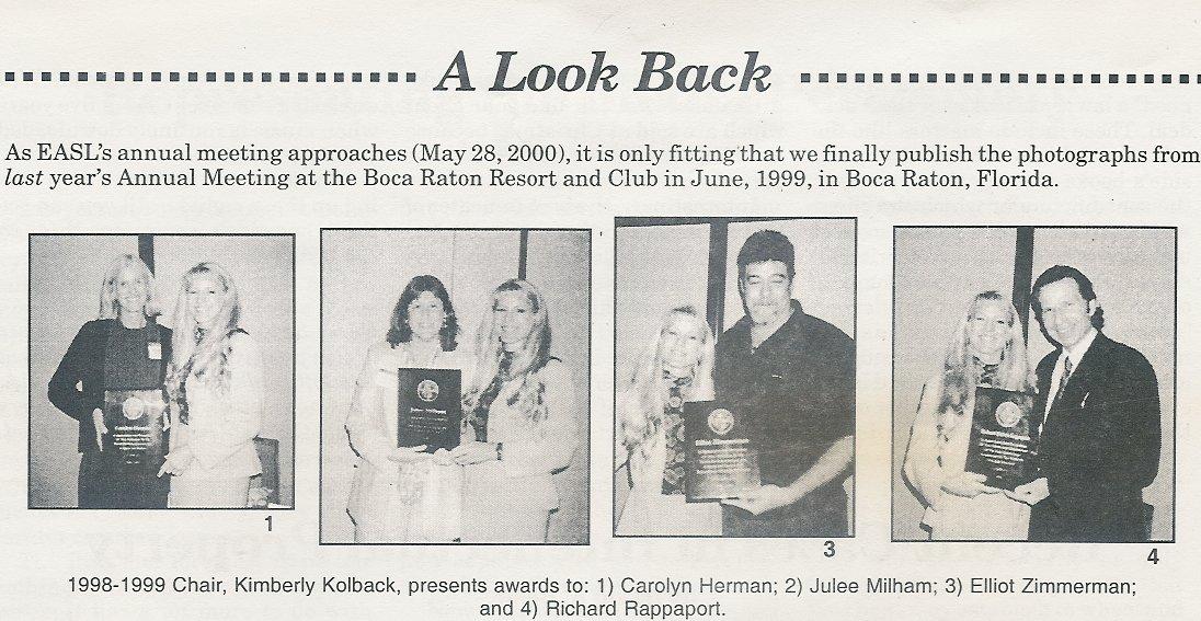 2000-5-28_News_EASL_1999_Awards