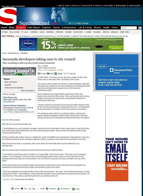 2009-9-15_News_JCCHOA_v._Jacaranda_Country_Club